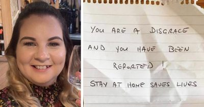 Nurse Left Stunned After Finding A Note From Furious Neighbor For Going Out During Lockdown