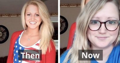 Women Share How Much They've Changed Since High School In A 'Glow-Down Challenge'
