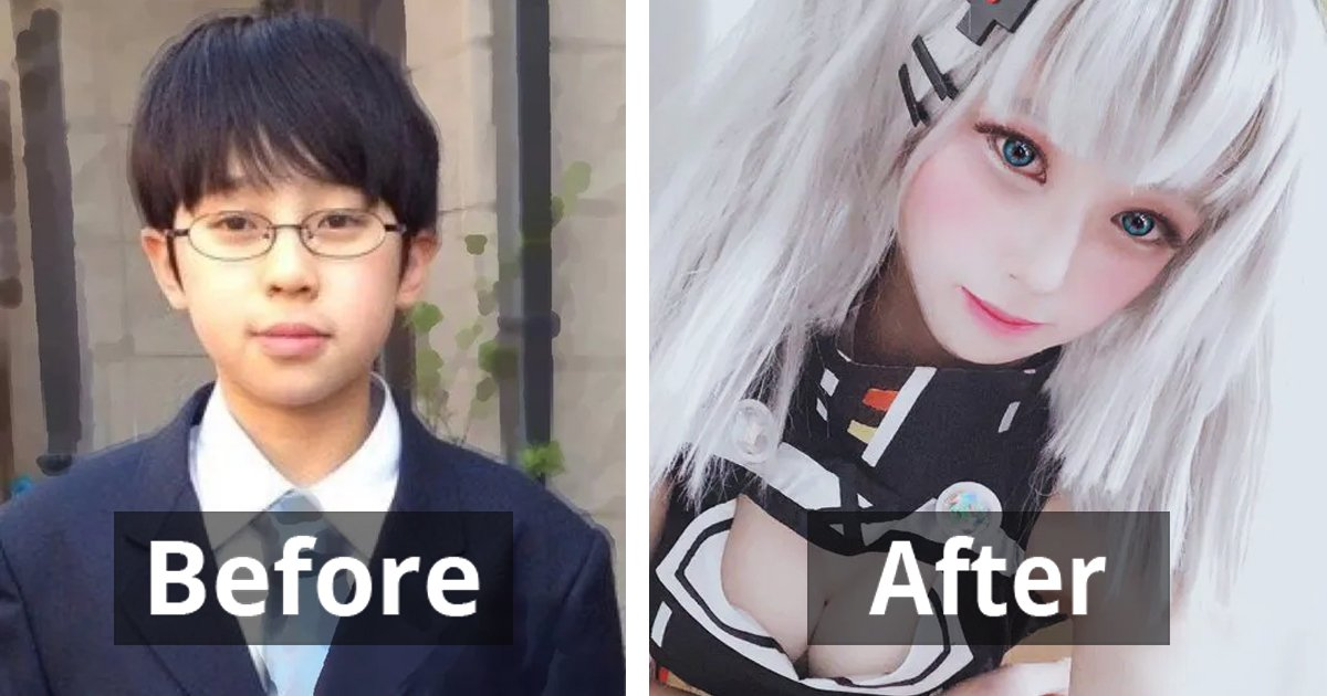 Japanese People Share 17 Pics Of Their Amazing Transformations