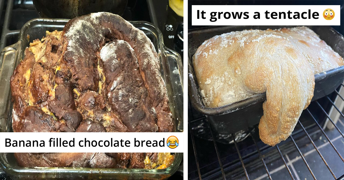 30 People Share Their Hilarious Baking Fails During Quarantine