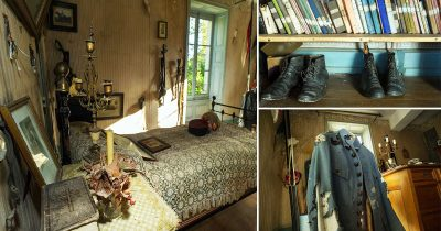 Soldier's Bedroom Has Been Left Untouched Since World War I