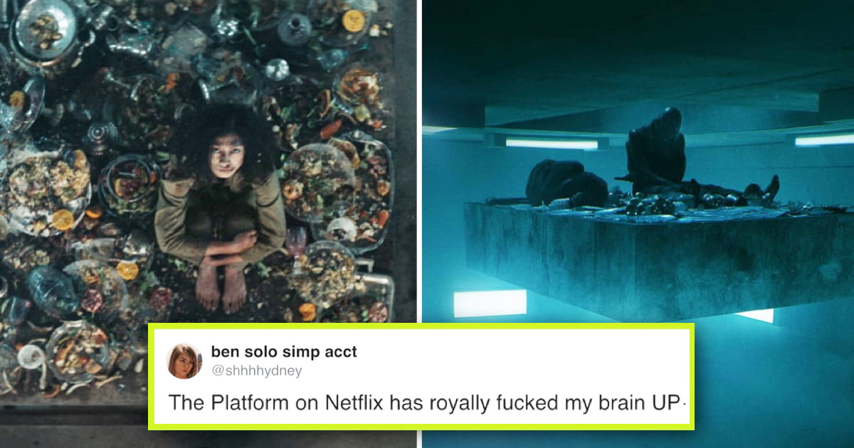 Viewers Are Shocked After Watching Netflix's Spanish Dystopian Thriller 'The Platform'