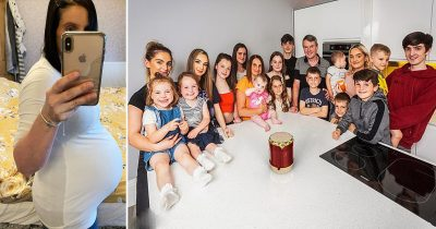 Britain's Biggest Family Welcomes Baby Number Twenty-Two After Giving Birth To A Girl