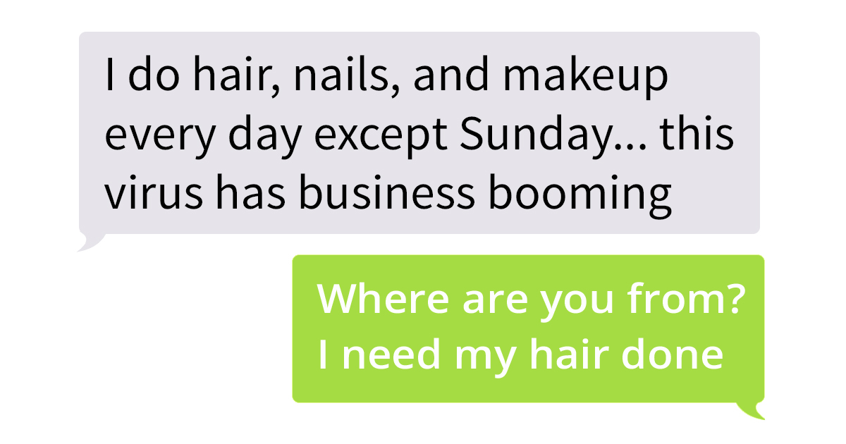 Woman Says Her Hair, Nails And Makeup Business Is Booming And Slammed A Woman Who Asked Her