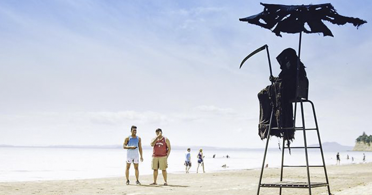 Man Dressed Up As The Grim Reaper To Tour Around Florida's Prematurely Opened Beaches