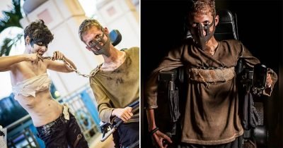 Student Turns His Wheelchair Into A 'Mad Max' Cosplay And It Looks Badass