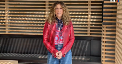 Rita Wilson's First Performance Since Recovering Is The Anthem For NASCAR performance