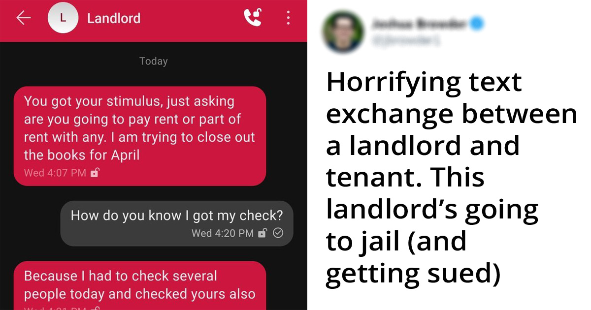 25 Greedy Landlords Who Show Their True Colors During The Pandemic