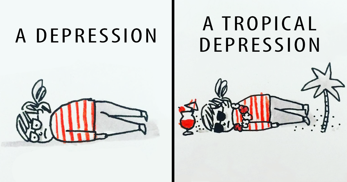 Artist's 30 Hilarious Comics Show Her Life With Anxiety And Depression