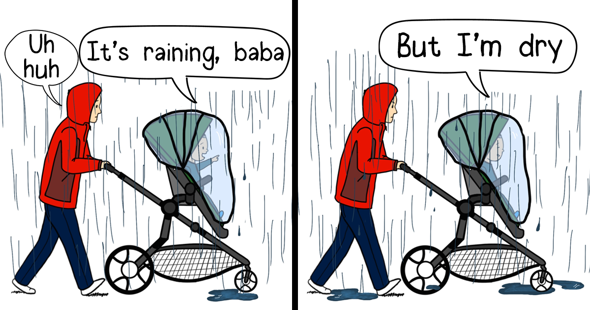 Artist Perfectly Details Fatherhood With His Toddler's Logic Comics