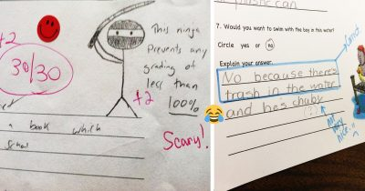 22 Clever Kids Whose Test Answers Were A Hilarious Form Of Art