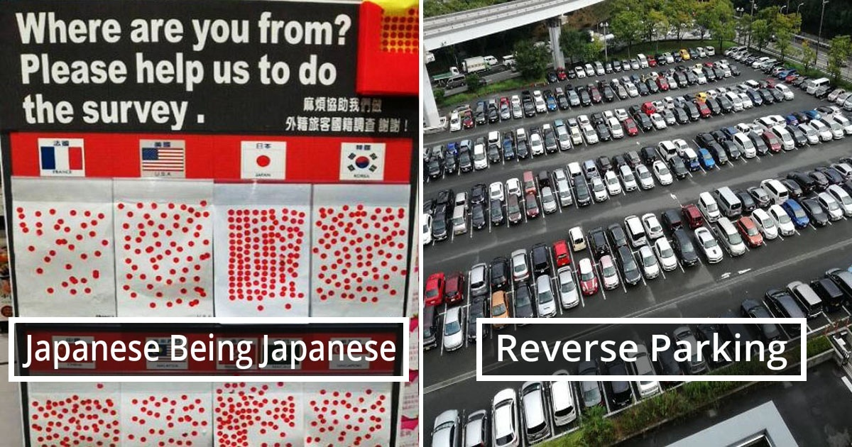 40 Pics Show That Japan Is Totally Different From Other Countries