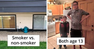 33 Interesting Comparison Pictures That Will Make You Smile And Gasp