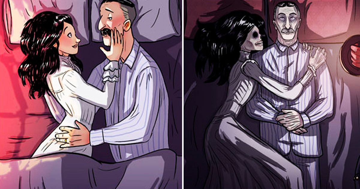Artists Draw Dark Short Comics With Twisted Storyline