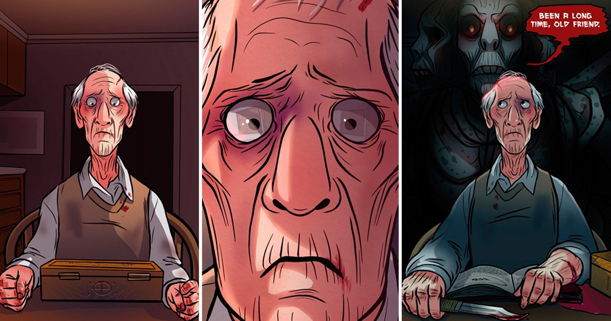Artists Draw 3 Horror Stories With Twisted Endings
