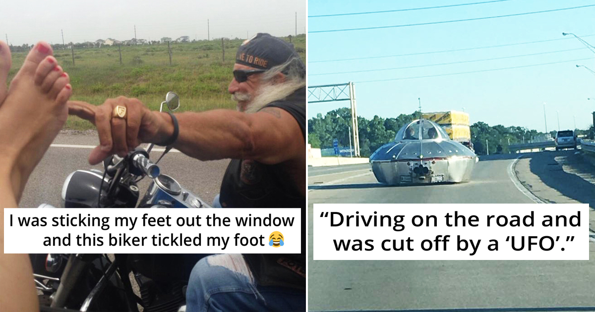 30 People Encountered Hilariously Unexpected Things While On The Road