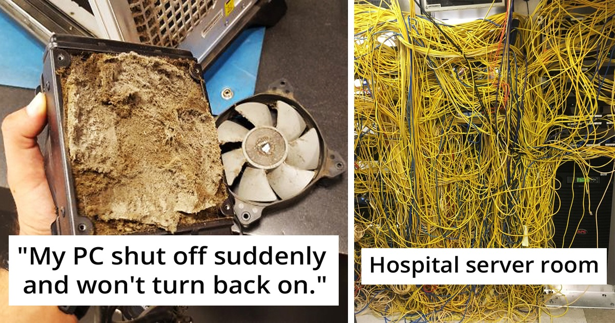 29 Tech Support People Share Nightmarish Cases They've Ever Encountered With