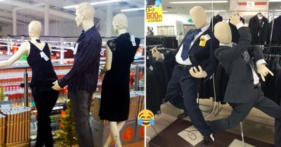 35 Hilariously Weird Mannequins That Make Shopping Even More Fun