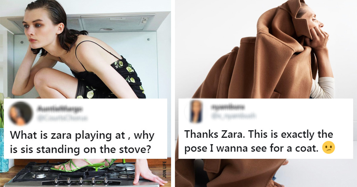 Shoppers Say It's 'Impossible' To Shop Online From Zara Due To Hilariously Weird Modeling Poses