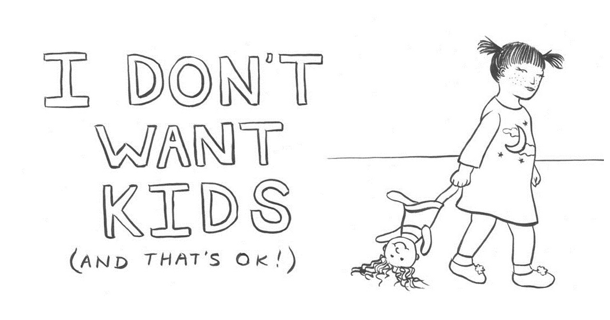 Woman illustrates why she chooses to remain child-free and why it is okay.