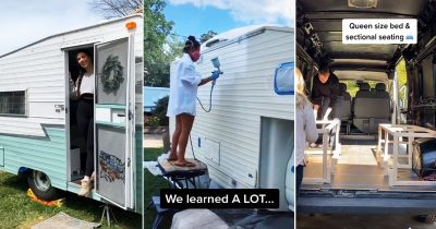 Van Users Are Sharing A Tour Of Their Space-Saving Lifestyle And It's Viral