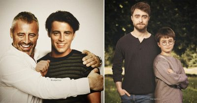 28 Celebrities Hanging Out With Their Younger Selves Show How They've Changed