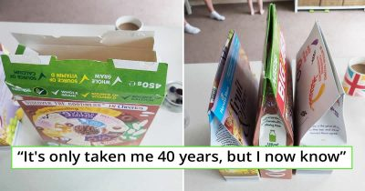 Mom Finds Out The Correct Way To Close Cereal Boxes, And Couldn't Stop To Share It