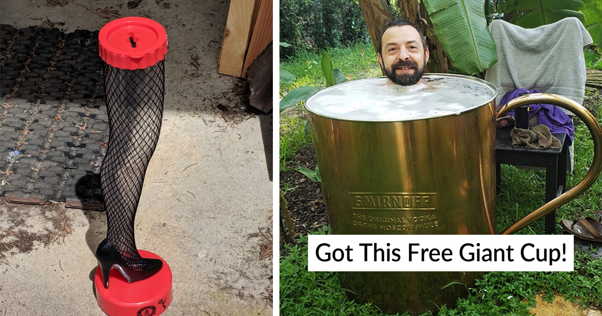 28 People Shared Awesome Secondhand Finds That Will Give You Amazement