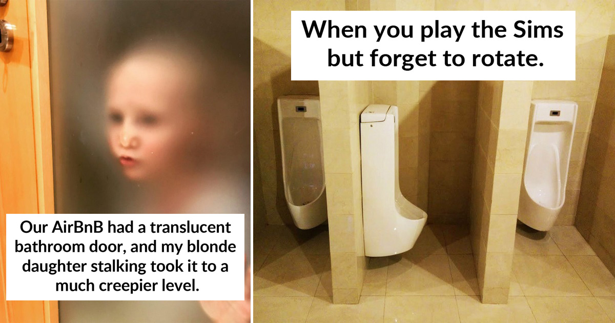 33 Hilarious Toilet Design Fails That Definitely Came Straight From Hell