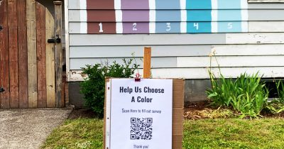 Family Creates Survey Asking Neighbors To Pick Their Next House Color, And It Went Viral