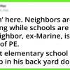 Neighborhood Starts Co-Op Homeschooling, Retired Marine In Charge Of PE And Kids Enjoy It