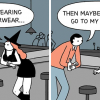 Artist's 30 Dark Humor Comics With Unexpected Endings