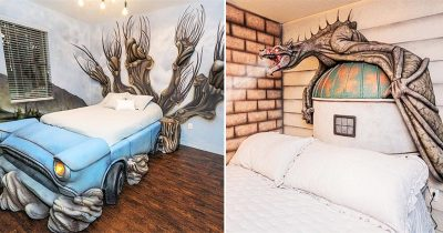 Harry Potter Fans Can Now Enjoy Staying In A Massive Harry Potter Themed House