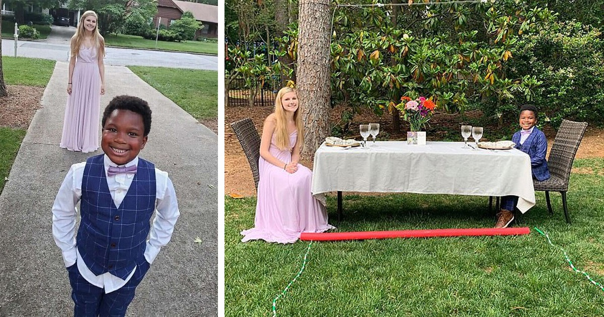 7-Year-Old Boy Throws Prom For His Babysitter, 17, After Her Dance Was Canceled