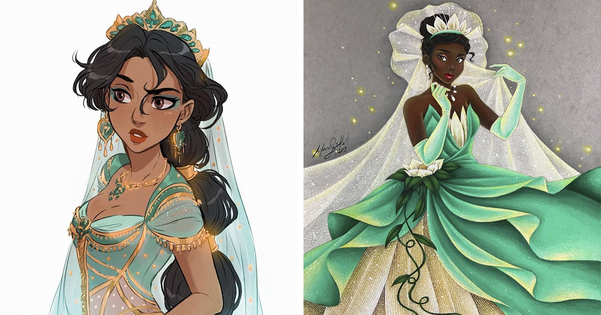 Artists Reimagine Disney Princesses In A Way That No One Seen Them Before