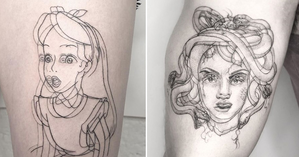 This Tattoo Artist Expert In Trippy Tattoos That Look Absolutely Awesome