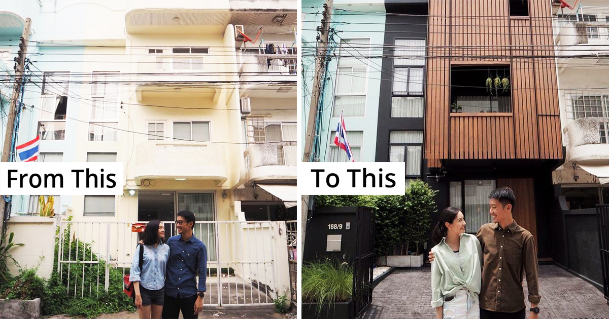 Thai Couple Bought An Old House And Gave It A Jaw-Dropping Makeover For Themselves