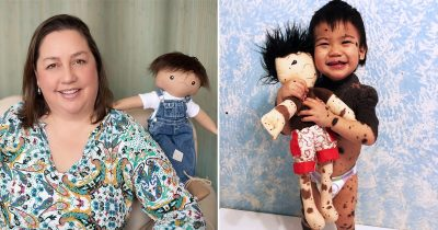 Woman Customizes Lookalike Dolls For Kids With Disabilities To Make Them Feel Better