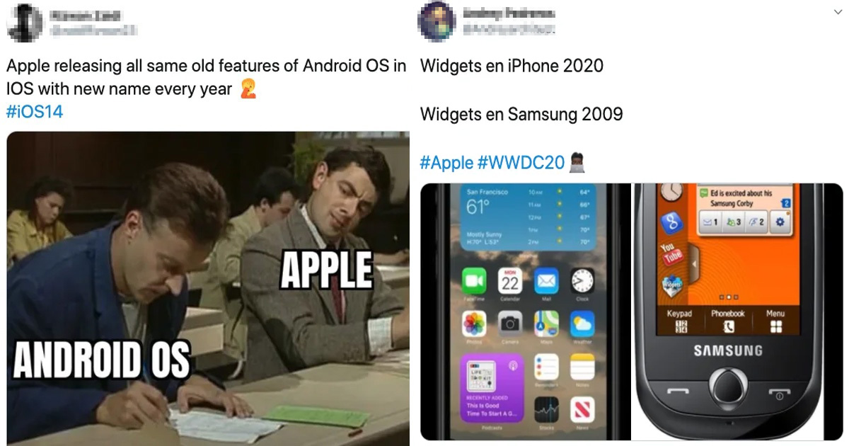 People Are Hilariously Roasting Apple For Its New iOS 14