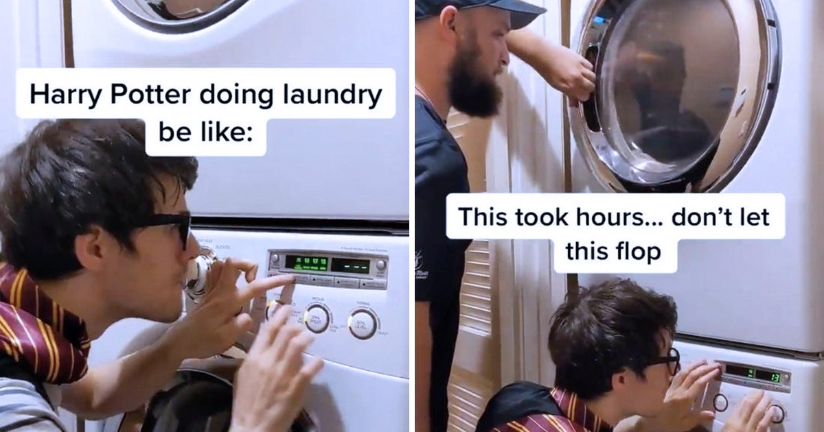 Fans Recreate 'Harry Potter' Theme Song With A Washing Machine, And J.K. Rowling Approves The Creativity