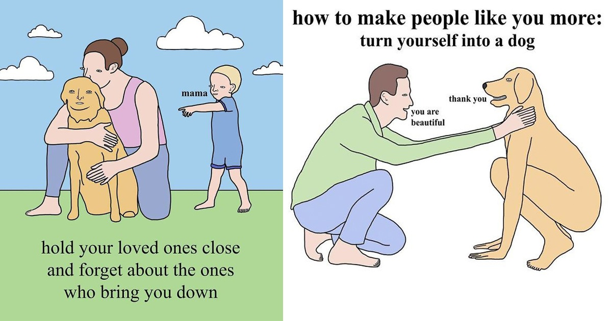 Artist's 30 Absurd Comics That Are Just So Odd