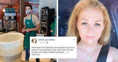 Starbucks Barista Gets Over $57K Tip After 'Karen' Tried To Shame Him