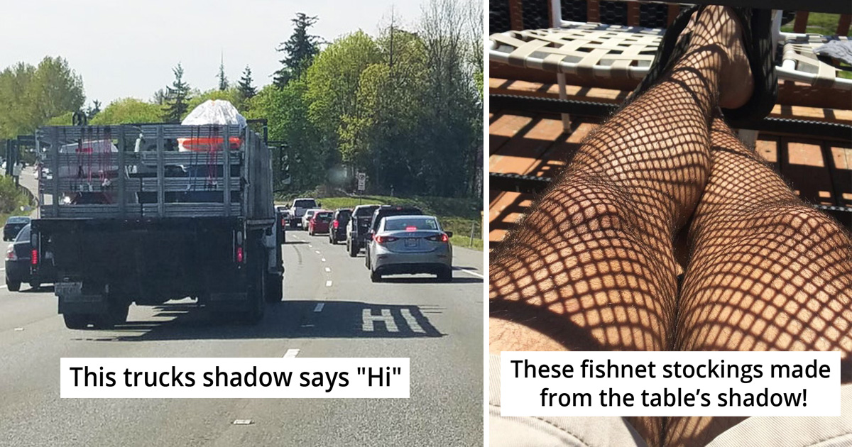 30 Interesting Shadows Of Things That Show Something Else