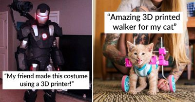 28 Brilliant Creations People Made By Using 3D Printers