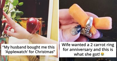 19 Unromantic Husbands Who Made Hilarious Attempt To Look Romantic