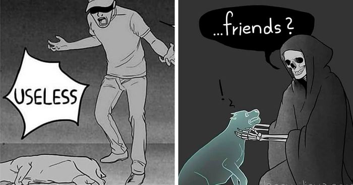 The 'Good Boy' Comics Artist Makes People Cry Again With Her New Comics About Dog