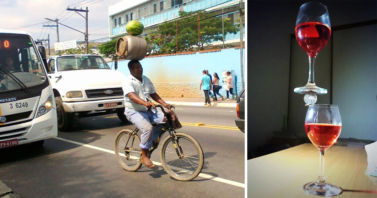 32 Pics Of Perfectly Balanced Objects That Will Make You Say Wow!