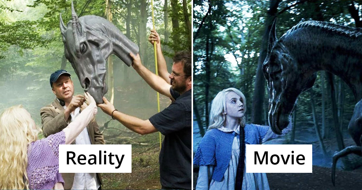 33 Famous Movie Scenes With And Without Special Effects