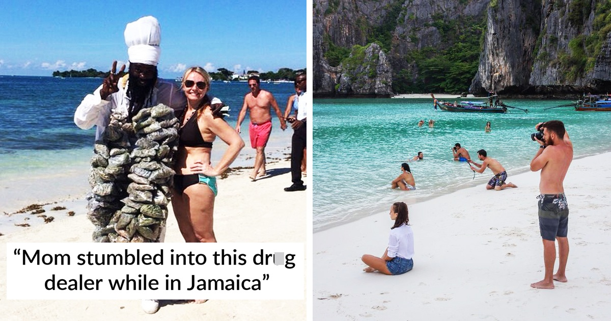 30 Interesting Scenes That Happened On The Beach