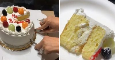 Mom Shares Incredible Cake-Cutting Hack And People Are Loving It